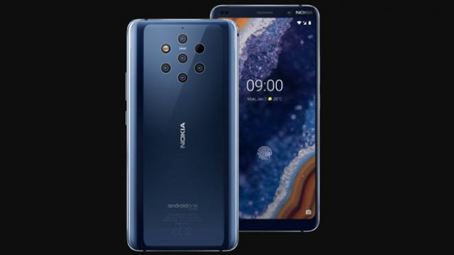 Nokia 9 Pureview With 5 Rear Cameras launched