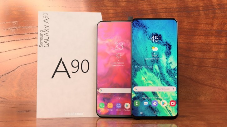 Samsung Galaxy A90 Will Feature a Infinity Display and Popup Camera