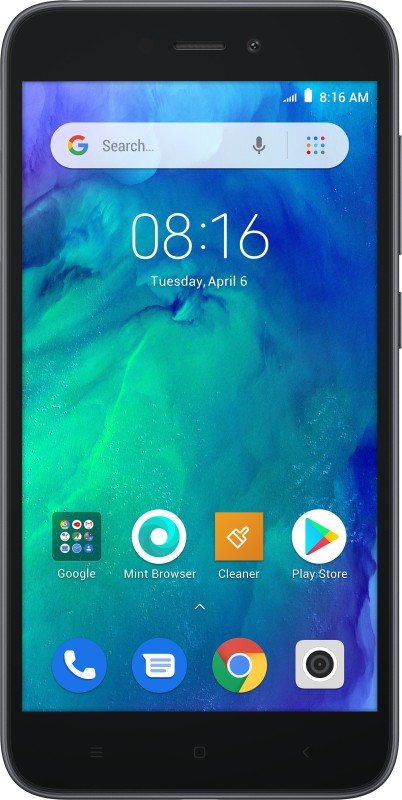 Redmi Go (Black, 8 GB)(1 GB RAM)