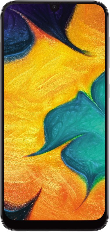 Samsung Galaxy A30 (Black, 64 GB)(4 GB RAM)