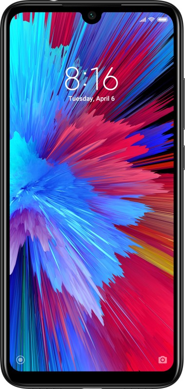 Redmi Note 7S (Onyx Black, 64 GB)(4 GB RAM)