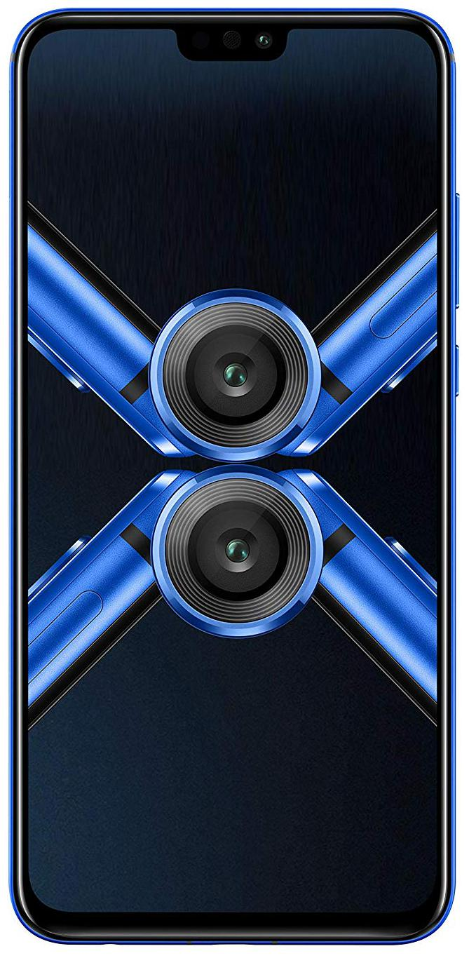 Honor 8x (Black, 64 GB)(4 GB RAM)