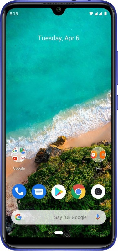 Mi A3 (Not just Blue, 64 GB)(4 GB RAM)