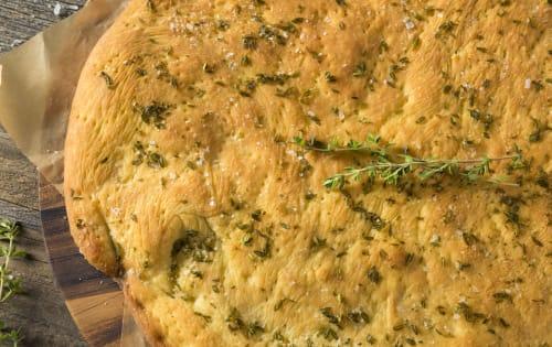 Foccacia AL Forno - Rosemary, Sea Salt & Olive oil | Bread | Michelangelo's Aspendale Gardens