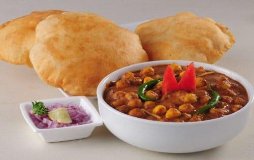 Chole Bhature | Lunch Menu | Masala Bar And Grill