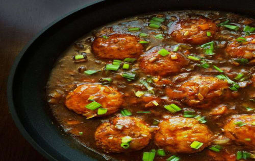 Veg Manchurian Gravy - Masala Bar And Grill