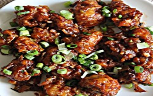 Gobhi Manchurian Dry Dish | Masala Bar And Grill