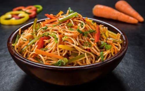 Schezwan Noodles Veg - Masala Bar And Grill
