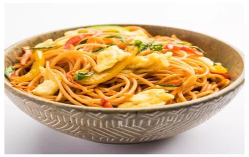 Schezwan Noodles Egg - Masala Bar And Grill