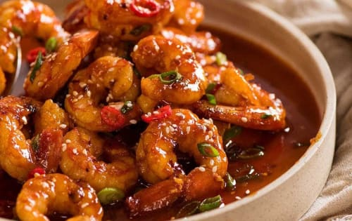Chilli Prawn gravy - Masala Bar And Grill