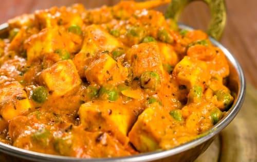 Paneer Matar Masala | Blend of Curries | Masala Bar And Grill