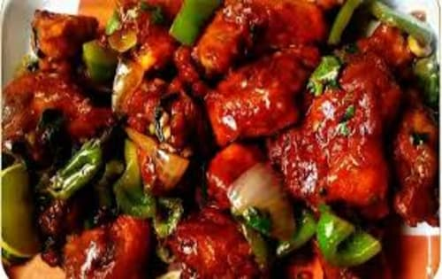 Chicken Chilli dry - Masala Bar And Grill