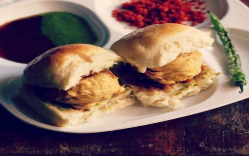 Vada pav - Masala Bar And Grill