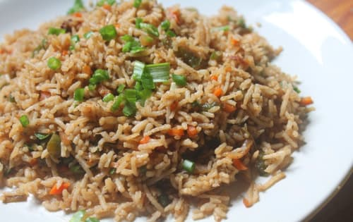 Fried rice Veg   Indo-Chinese Dish   Masala Bar And Grill