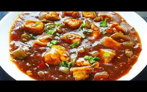 Chilli Chicken gravy - Masala Bar And Grill