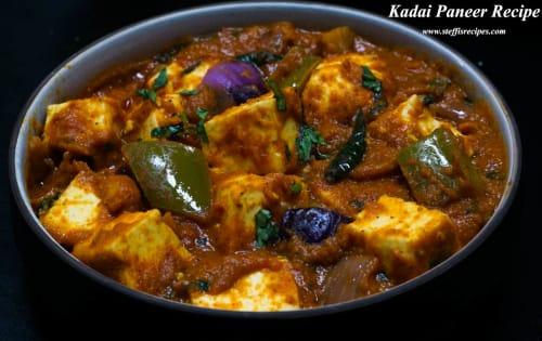 Kadhai Paneer | Blend of Curries | Masala Bar And Grill
