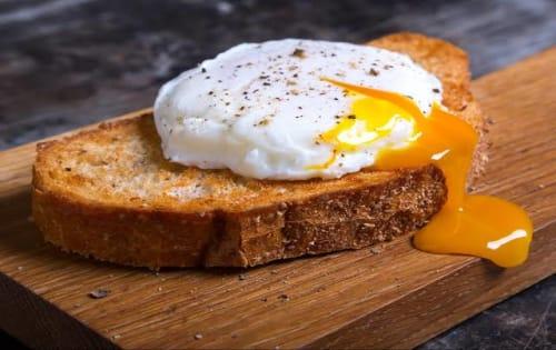 Eggs on Toast - Steamin' Mugs