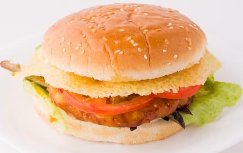 Veg Burger  - FKC - The Fusion Food