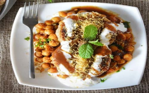 Tikki Cholle Chat - Welcome Indian Restaurant