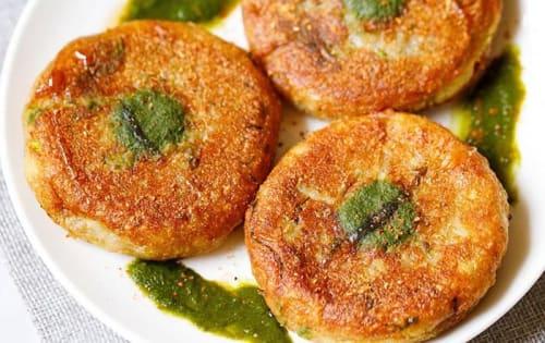 Aloo Tikki (2pcs) - Welcome Indian Restaurant