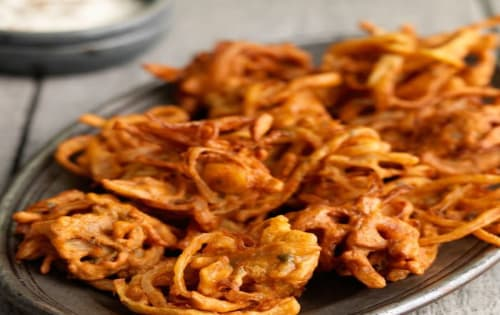Onion Bhaji - Welcome Indian Restaurant
