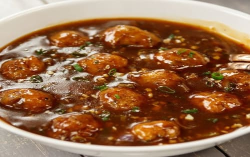 Manchurian  - Welcome Indian Restaurant