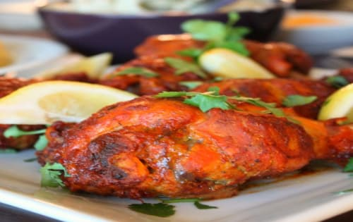 Tandoori Chicken - Welcome Indian Restaurant