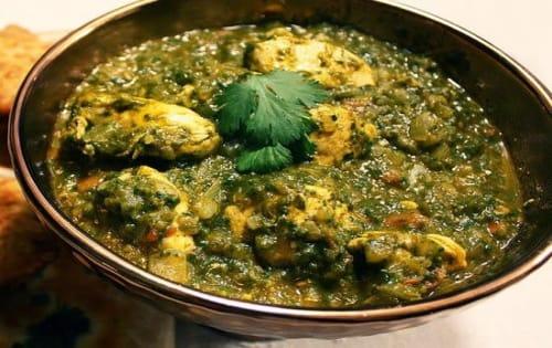 Chicken Saag Wala - Welcome Indian Restaurant