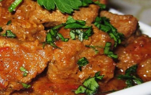 Beef Vindaloo - Welcome Indian Restaurant