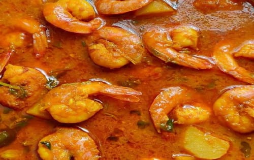 Prawn Curry - Welcome Indian Restaurant