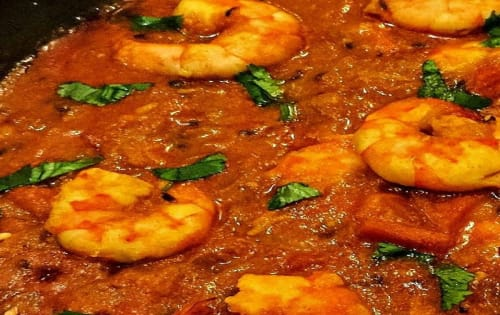 Garlic Prawns - Welcome Indian Restaurant
