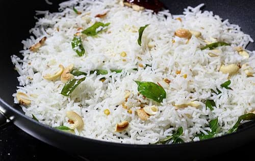 Coconut Rice - Welcome Indian Restaurant