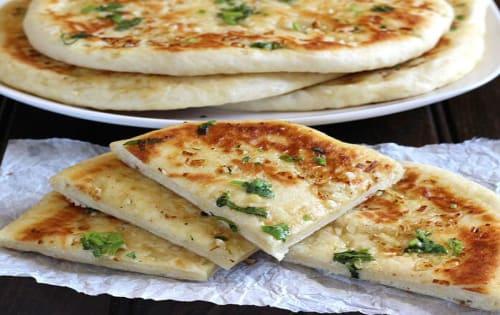 Cheese & Garlic Naan - Welcome Indian Restaurant