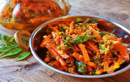 Mixed Indian style Pickle  - Welcome Indian Restaurant