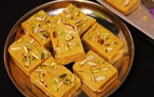 Besan Burfi  - Welcome Indian Restaurant