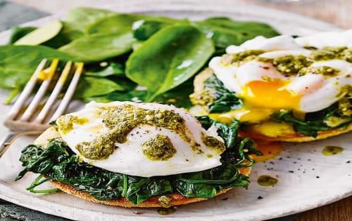 Egg Florentine - Cafe B2B