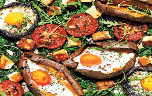 Veggie Breakfast - Cafe B2B