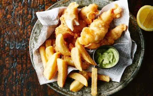 Flat Head Fish & Chips - Cafe B2B