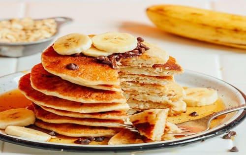 Banana Pancake (V) - Cafe B2B