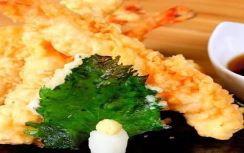 Japanese Style Tempura Prawns - Cafe B2B