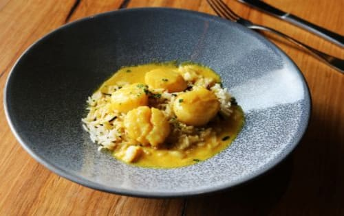 CURRY SCALLOPS - Shanikas Berwick
