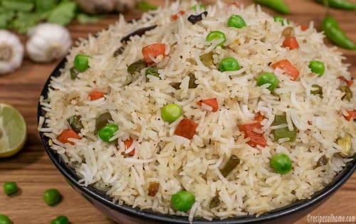 Veg Fried Rice  - FKC - The Fusion Food