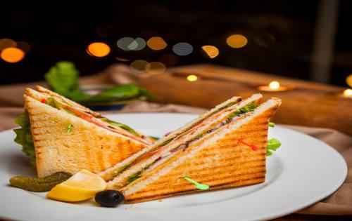 Club Sandwich - Luna's Food & Wine Bar