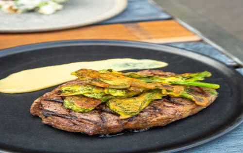 Scotch Fillet Steak  - Luna's Food & Wine Bar