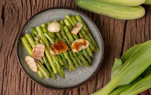 Side-Seared asparagus  - Luna's Food & Wine Bar