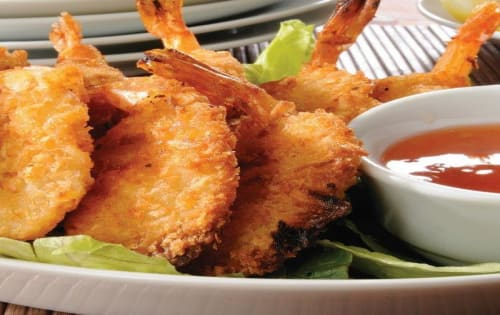 Prawn cutlets - George's On The Avenue