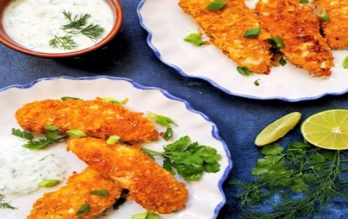 Salt & Vinegar Chicken Tenders - George's On The Avenue