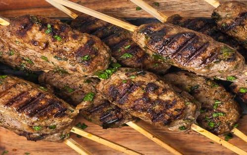 Lamb Kebab - George's On The Avenue
