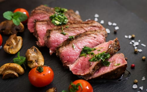 Plain Steak - George's On The Avenue