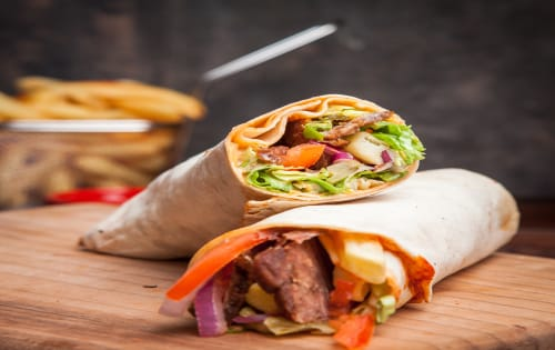Kebab (Lamb or Chicken or Mixed) - George's On The Avenue
